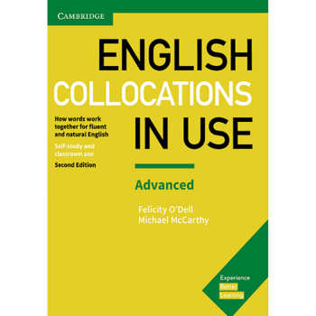 کتاب English Collocations in Use Advanced اثر Michael McCarthy And Felicity O Dell انتشارات Cambridge