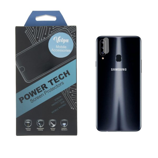 محافظ لنز دوربین ولگا مدل LE-Powertech مناسب برای گوشی موبایل سامسونگ Galaxy A20s