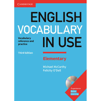 کتاب English Vocabulary in Use Elementary اثر Michael McCarthy And Felicity ODell انتشارات Cambridge