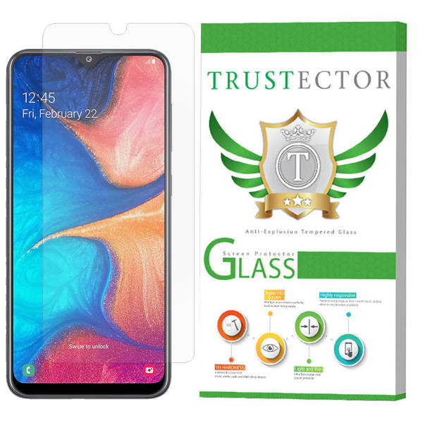 محافظ صفحه نمایش تراستکتور مدل GLS مناسب برای گوشی موبایل سامسونگ Galaxy A20