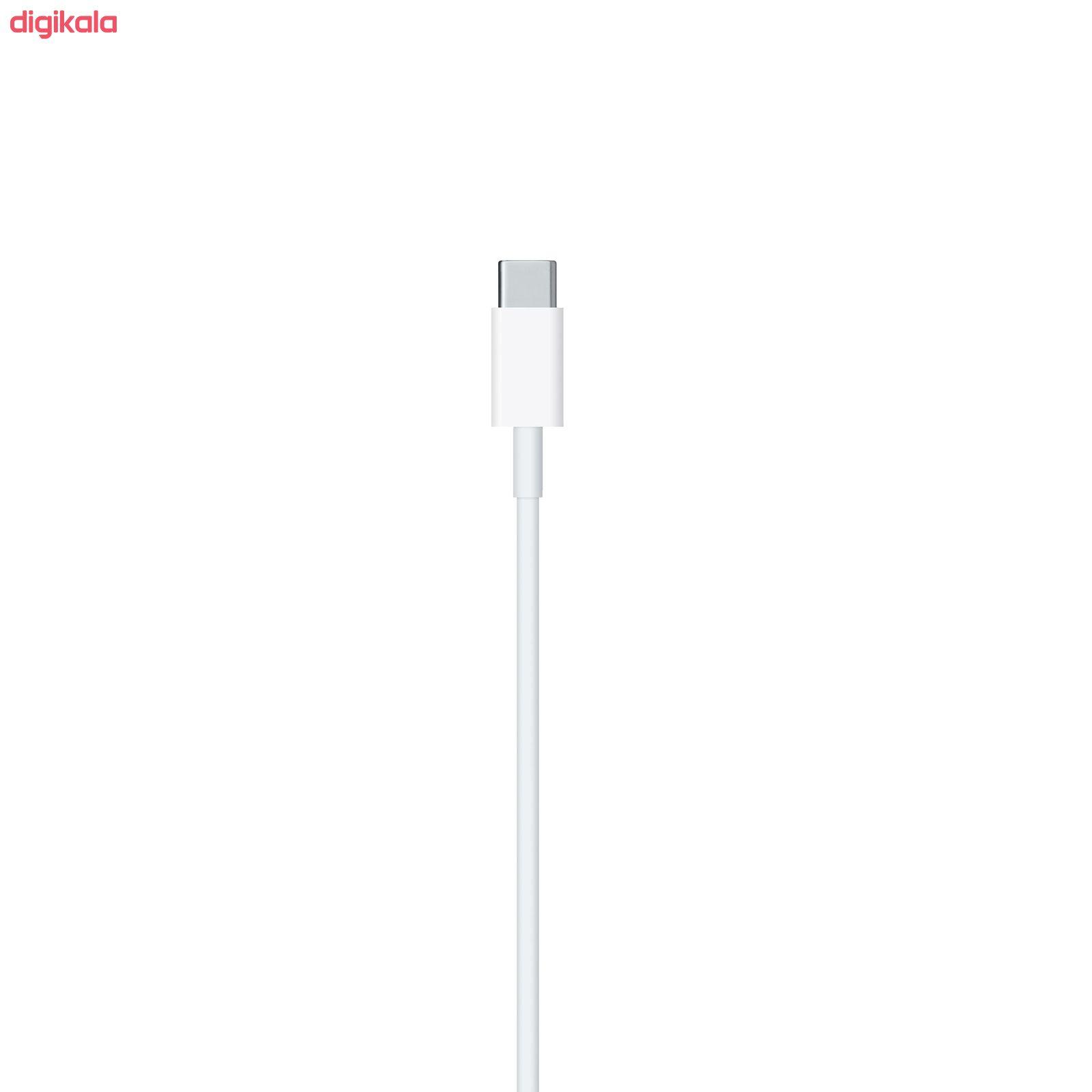 کابل تبدیل USB-C به لایتنینگ اپل  طول 1 متر main 1 2