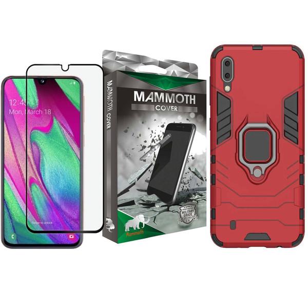 کاور ماموت مدل M-GHB-MGNT مناسب برای گوشی موبایل سامسونگ Galaxy M10 به همراه محافظ صفحه نمایش