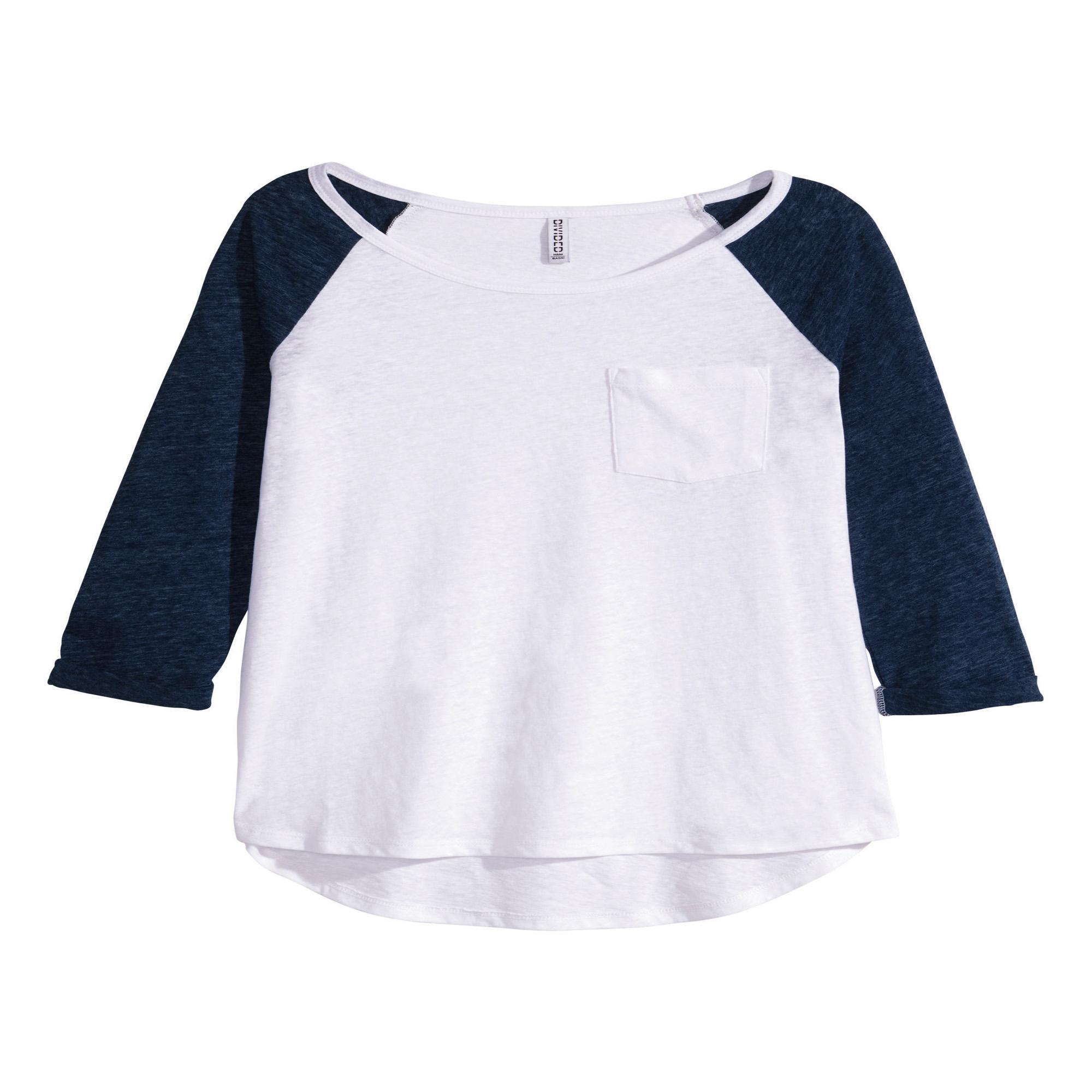 تی شرت آستین بلند  زنانه دیوایدد مدل h1067bw