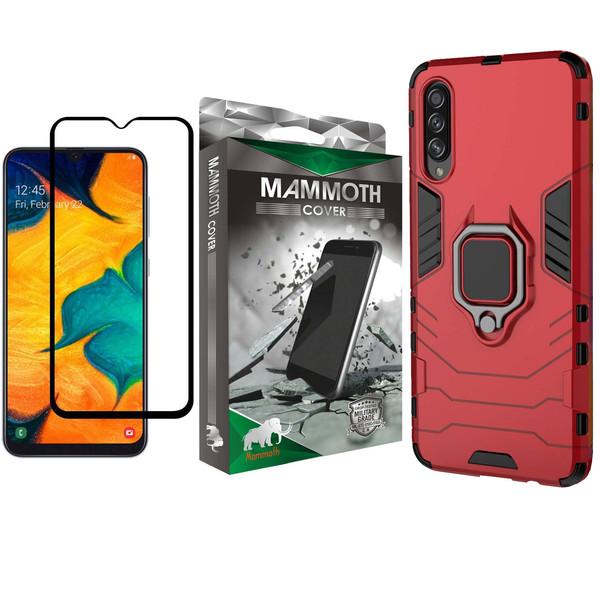 کاور ماموت مدل M-GHB-MGNT مناسب برای گوشی موبایل سامسونگ Galaxy A20S به همراه محافظ صفحه نمایش
