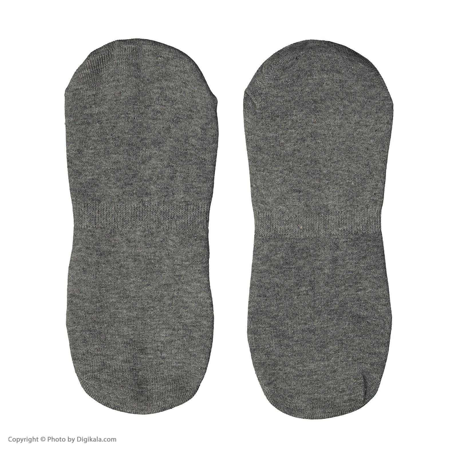 جوراب مردانه یوپیم مدل 5116940-Melange Grey بسته 3 عددی - طوسي - 3