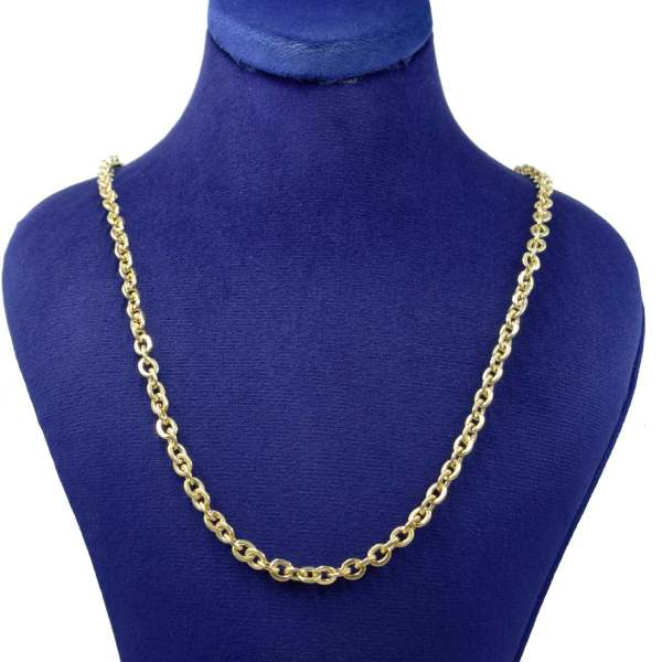 زنجیر طلا 18 عیار زنانه کانیار گالری کد K4