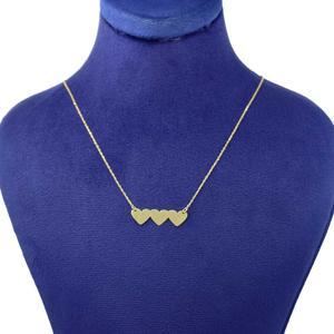 گردنبند طلا 18 عیار زنانه کانیار گالری کد 2455