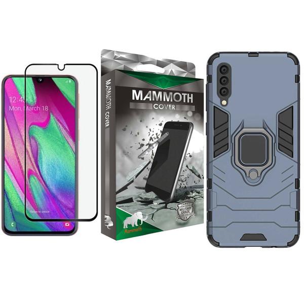 کاور ماموت مدل M-GHB-MGNT مناسب برای گوشی موبایل سامسونگ Galaxy A50S به همراه محافظ صفحه نمایش