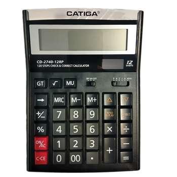 تصویر ماشین حساب کاتیگا مدل CD-2740-12RP