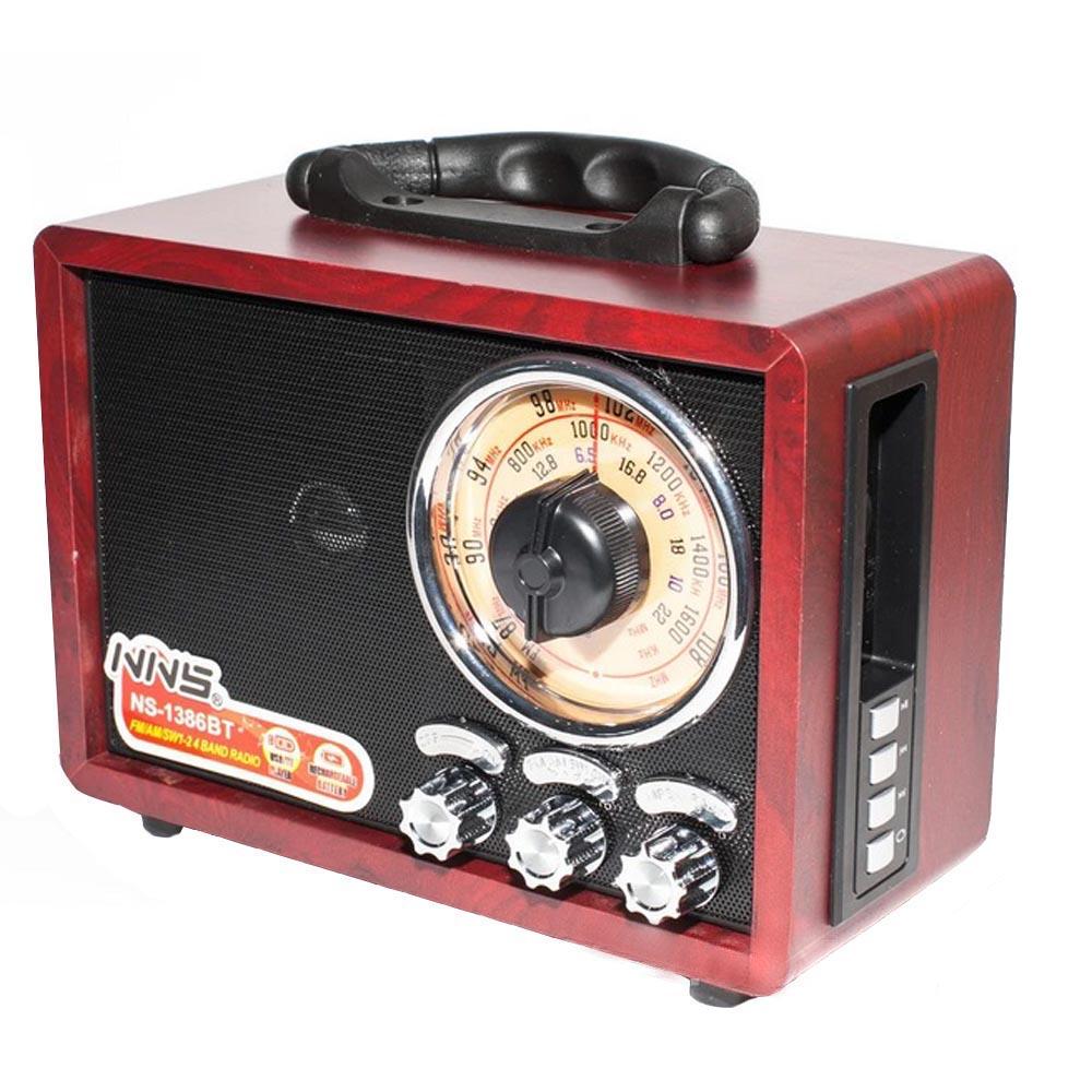 رادیو ان ان اس مدل NS-1386BT