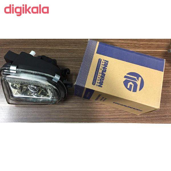 چراغ مه شکن  خودرو فن آوران پرتو الوند مدل AM 5964LR مناسب برای سمند بسته 2 عددی main 1 3