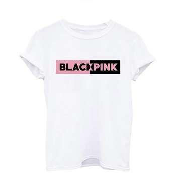 تی شرت طرح بلک پینک کد mbts3