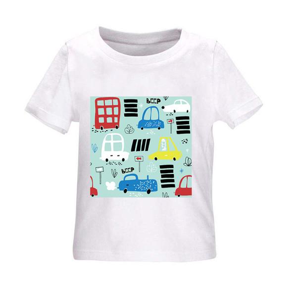 تی شرت بچگانه طرح ماشین کد N29