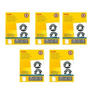 برچسب چاپ سی دی و دی وی دی کداک مدل 204-4027 مجموعه 5 عددی