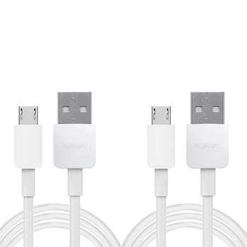 کابل تبدیل USB به microUSB  مدل py0857 طول 1 متر بسته 2 عددی