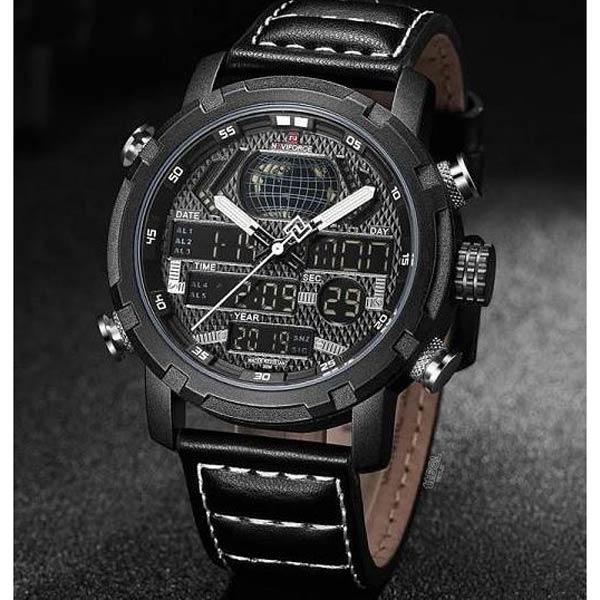 ساعت مچی دیجیتال مردانه نیوی فورس کد NF9160M - BL-wh             قیمت