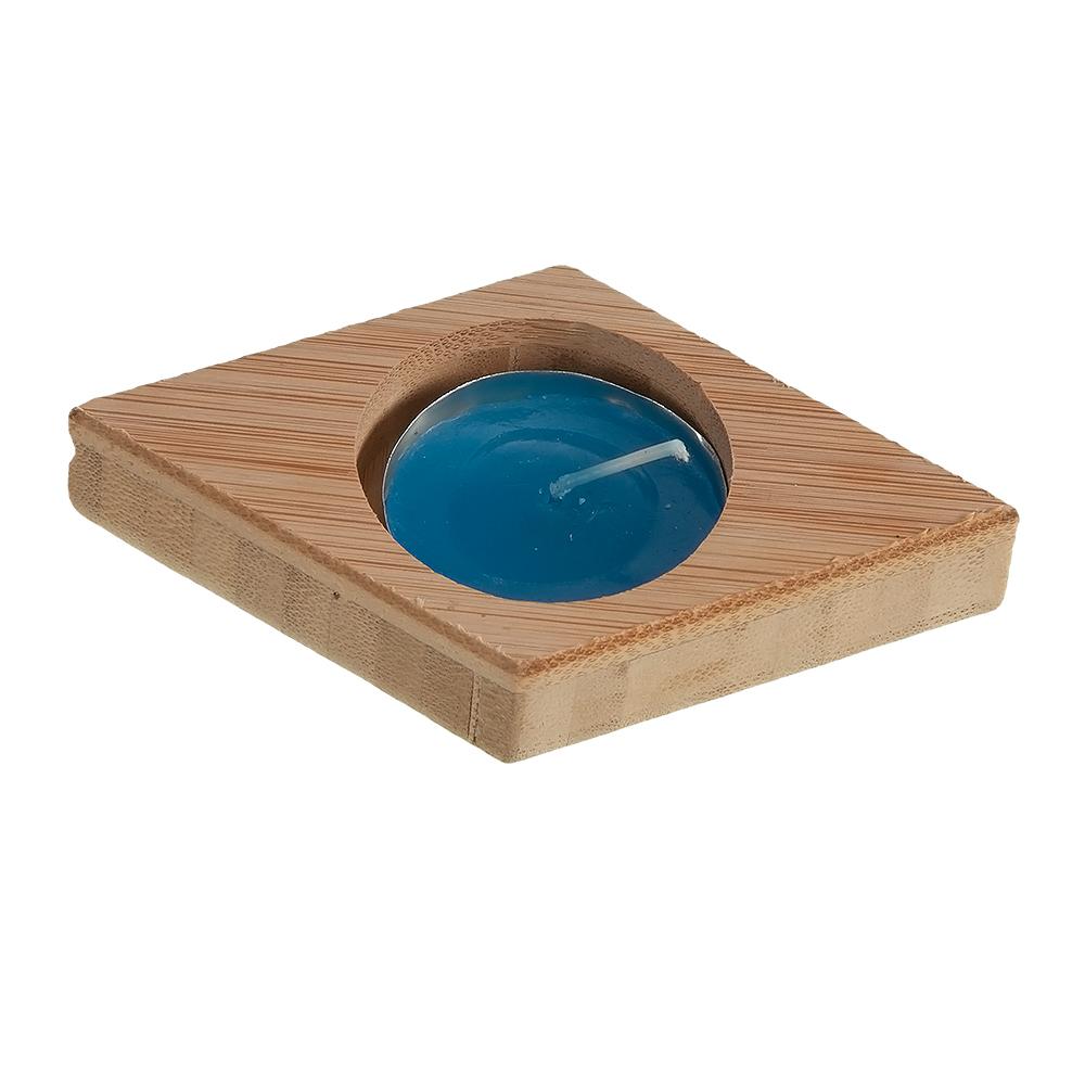 خرید                      جاشمعی چوبی مدل 21