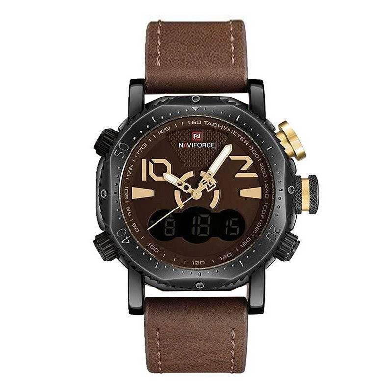 قیمت                      ساعت مچی عقربه ای مردانه نیوی فورس مدل NF9094M - GHAK
