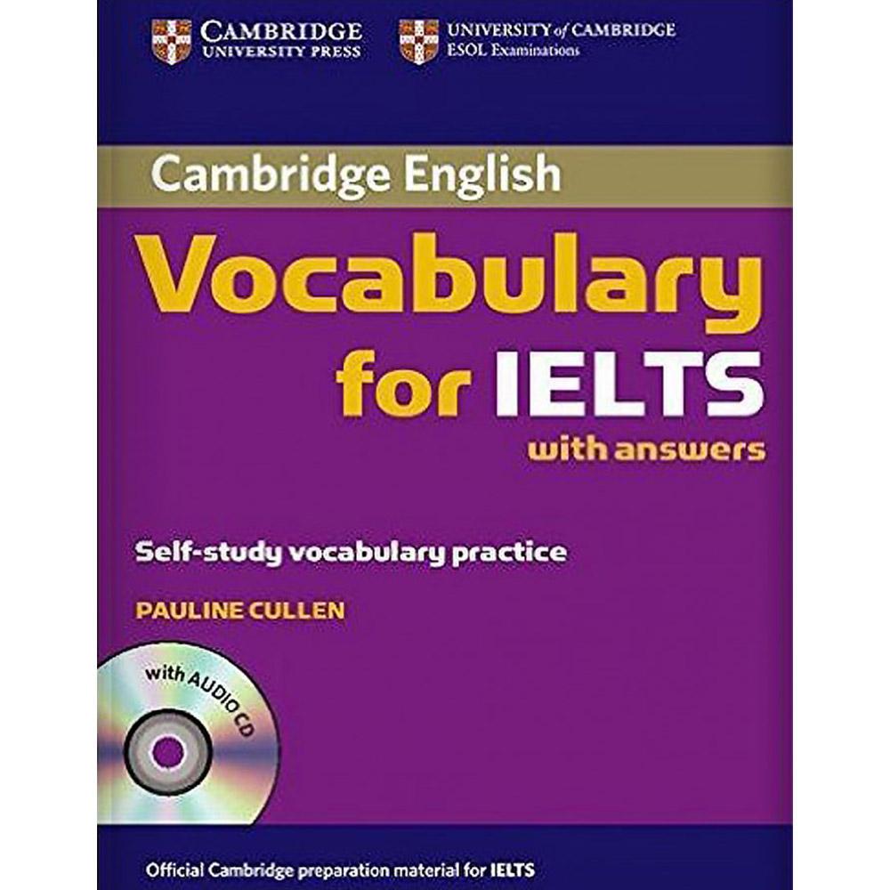 کتاب Cambridge English Vocabulary For Ielts With Answers اثر Pauline Cullen انتشارات Cambridge