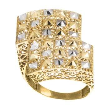 انگشتر طلا 18 عیار زنانه آلند کد H2026