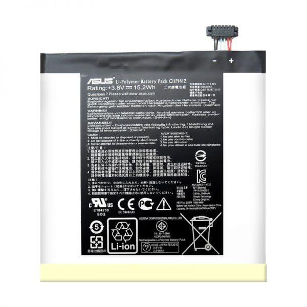 باتری تبلت مدل C11P1412 ظرفیت 3950 میلی آمپرساعت مناسب برای تبلت ایسوس fonePad 7 fe171