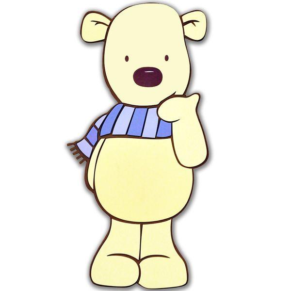 استیکر فومی یک تکه دکوفان مدل Bears