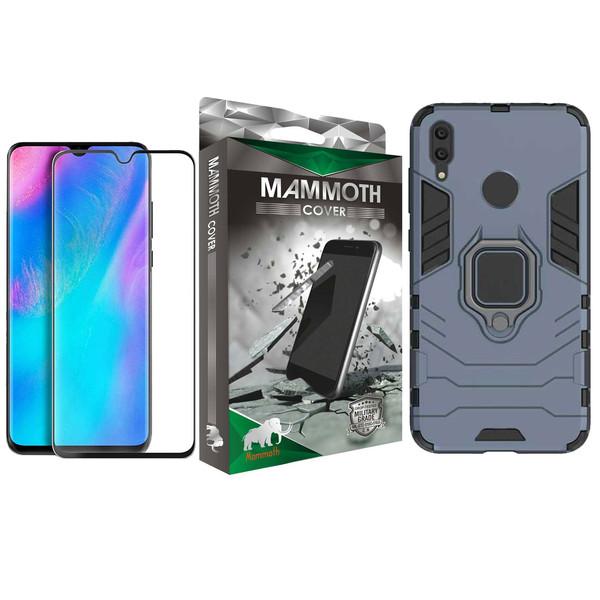 کاور ماموت مدل M-GHB-MGNT مناسب برای گوشی موبایل هوآوی آنر 8A به همراه محافظ صفحه نمایش