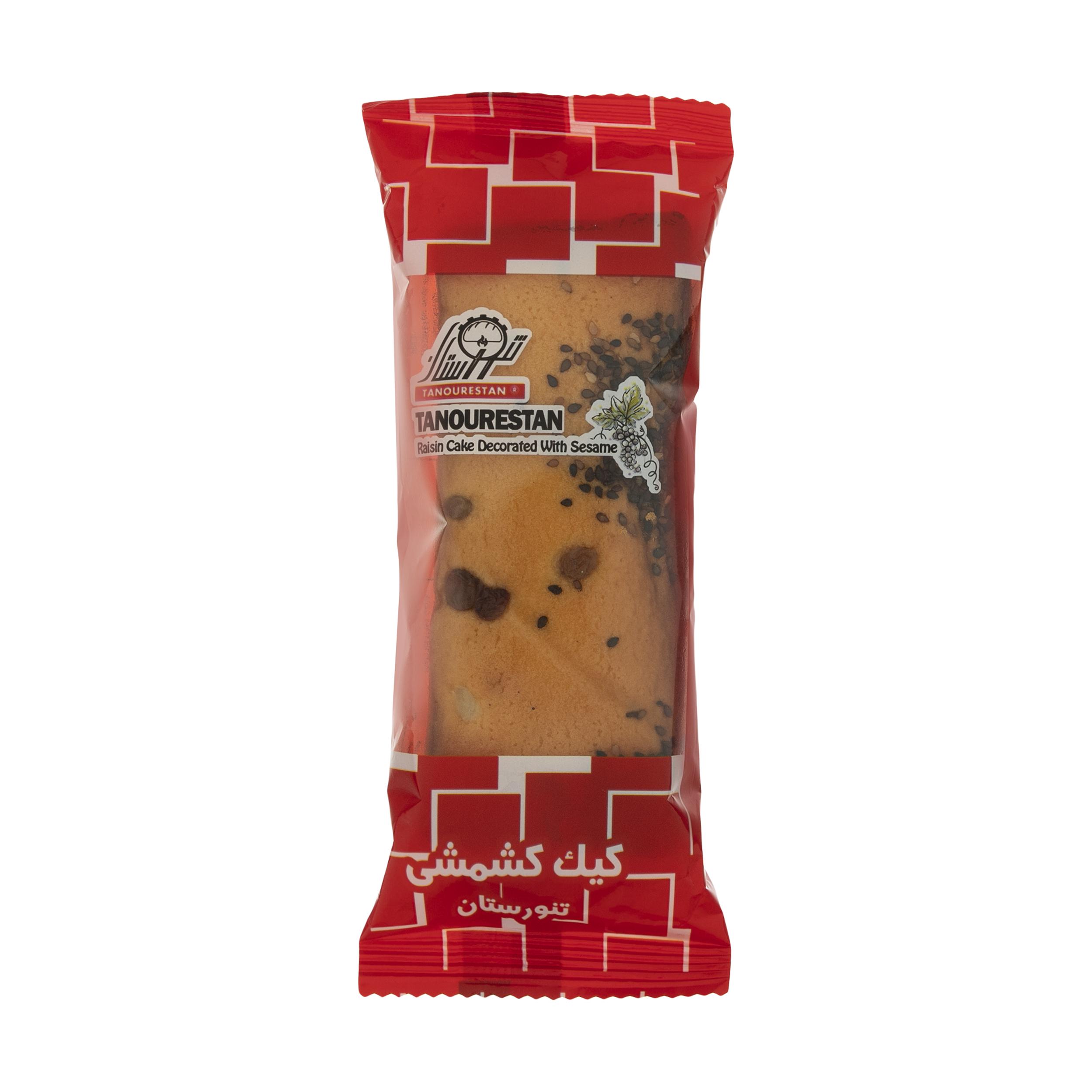 کیک کشمشی تنورستان - 100 گرم