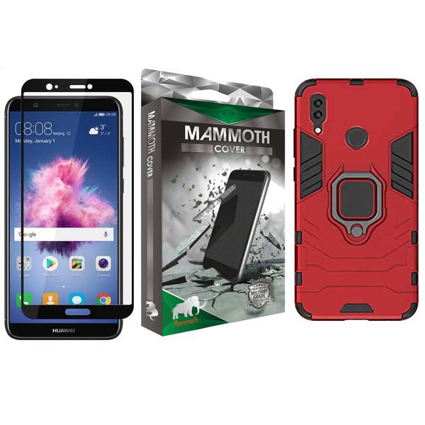 کاور ماموت مدل M-GHB-MGNT مناسب برای گوشی موبایل هوآوی 2019 P Smart به همراه محافظ صفحه نمایش