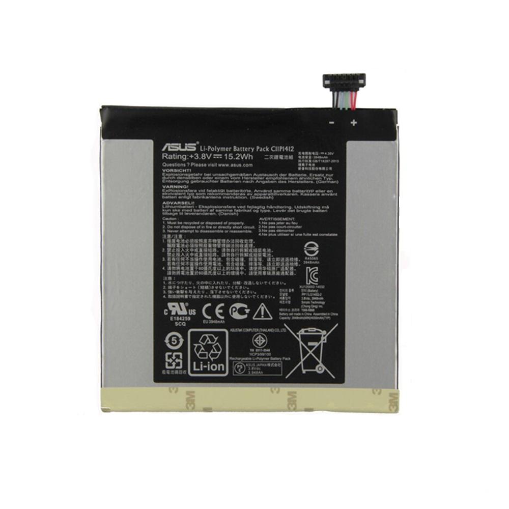 باتری تبلت مدل C11P1412 ظرفیت 3950 میلی آمپر ساعت مناسب برای تبلت ایسوس fonepad fe175