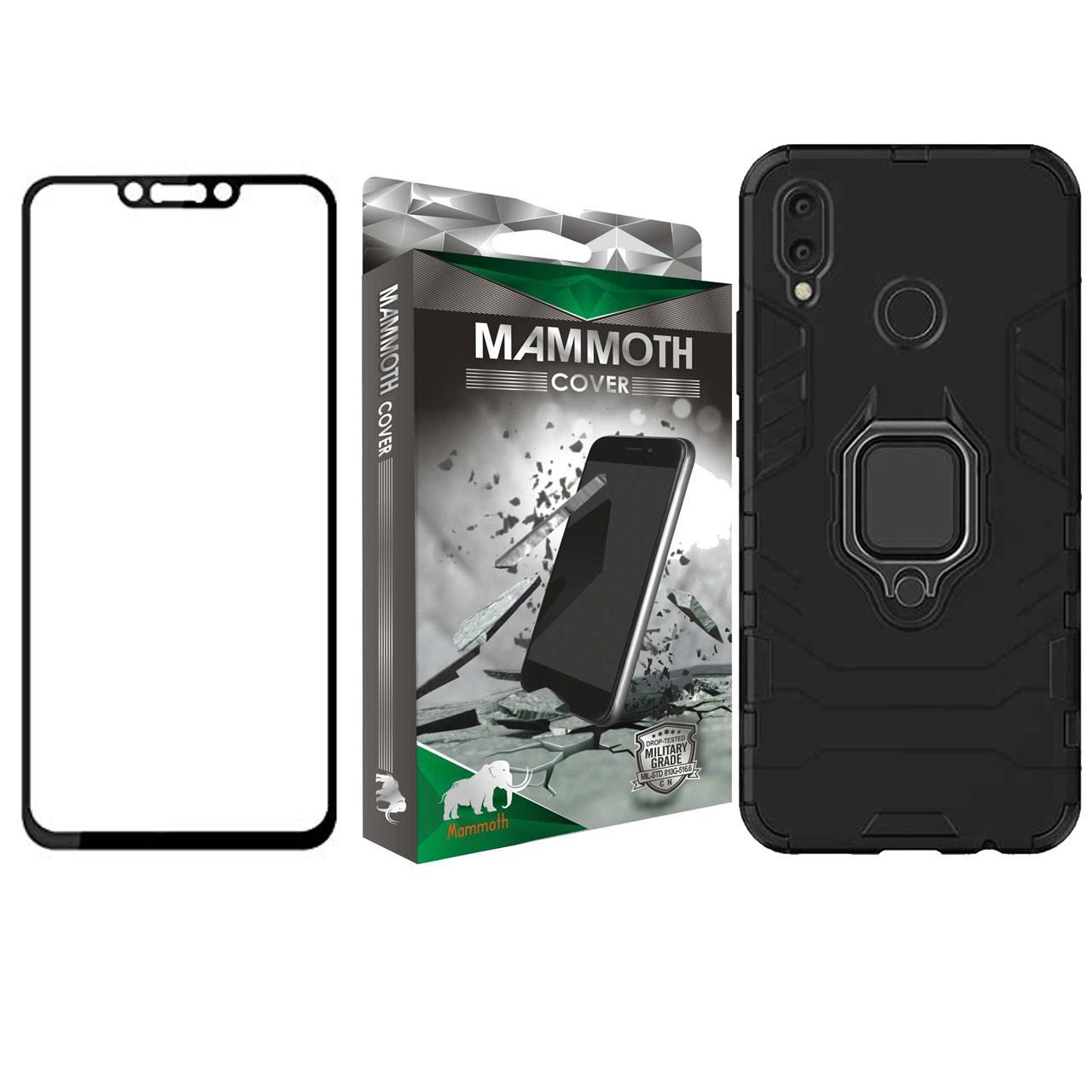 کاور ماموت مدل M-GHB-MGNT مناسب برای گوشی موبایل هوآوی Nova 3i به همراه محافظ صفحه نمایش