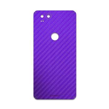 برچسب پوششی ماهوت مدل Purple-Fiber مناسب برای گوشی موبایل گوگل Pixel 2