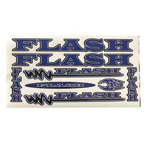استیکر دوچرخه مدل flash