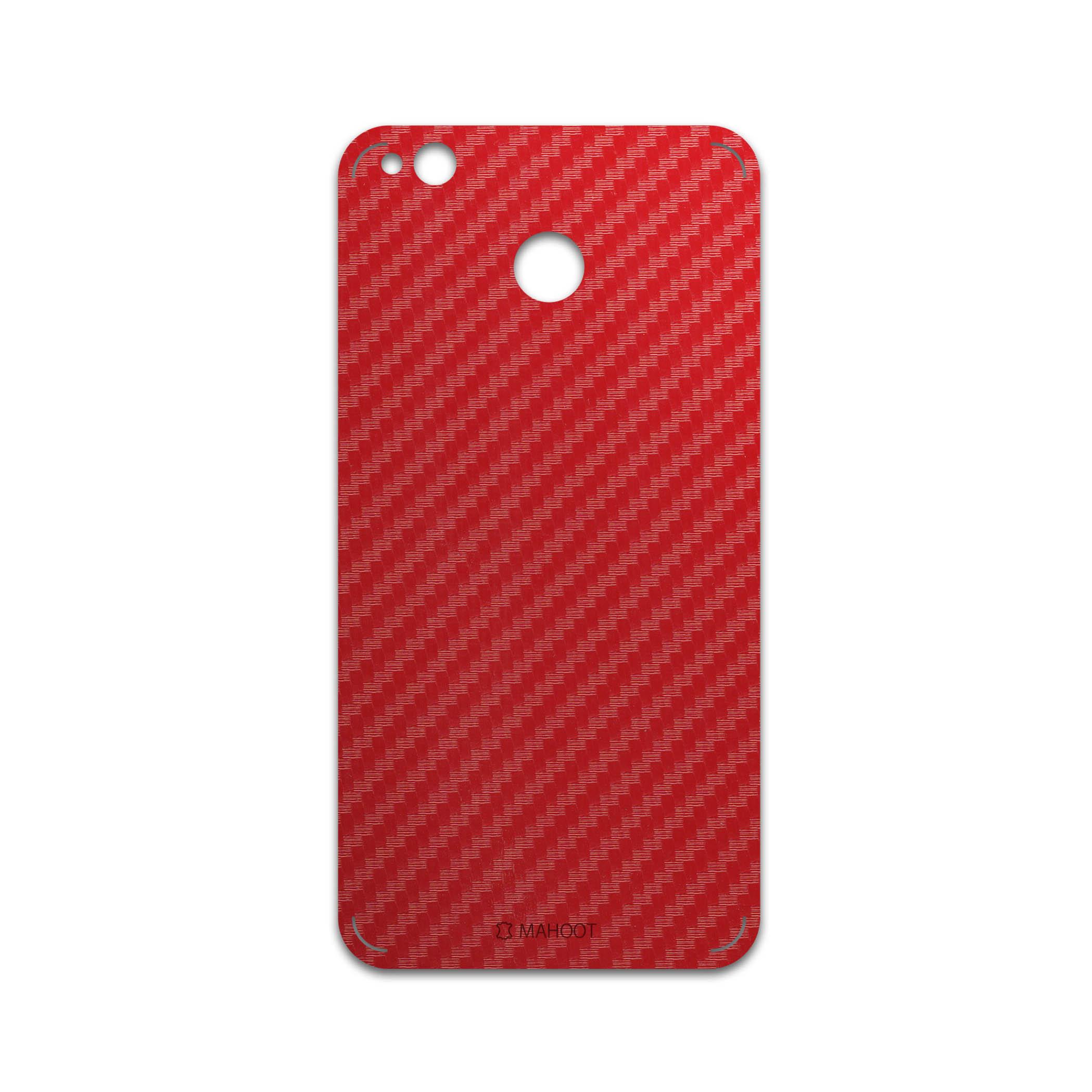 برچسب پوششی ماهوت مدل Red-Fiber مناسب برای گوشی موبایل شیائومی Redmi 4X