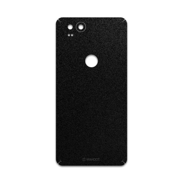 برچسب پوششی ماهوت مدل Black-Suede مناسب برای گوشی موبایل گوگل Pixel 2