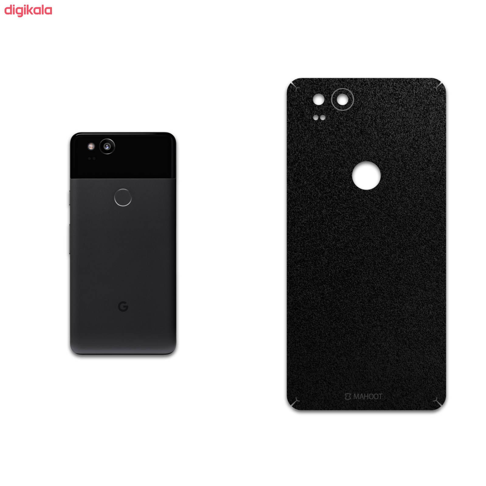 برچسب پوششی ماهوت مدل Black-Suede مناسب برای گوشی موبایل گوگل Pixel 2 main 1 1