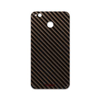 برچسب پوششی ماهوت مدل Glossy-Brown-Fiber مناسب برای گوشی موبایل شیائومی Redmi 4X