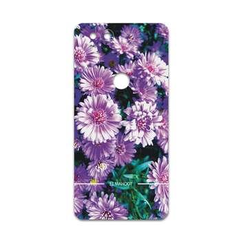برچسب پوششی ماهوت مدل Purple-Flower مناسب برای گوشی موبایل گوگل Pixel 2