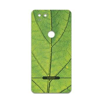 برچسب پوششی ماهوت مدل Leaf-Texture مناسب برای گوشی موبایل گوگل Pixel 2