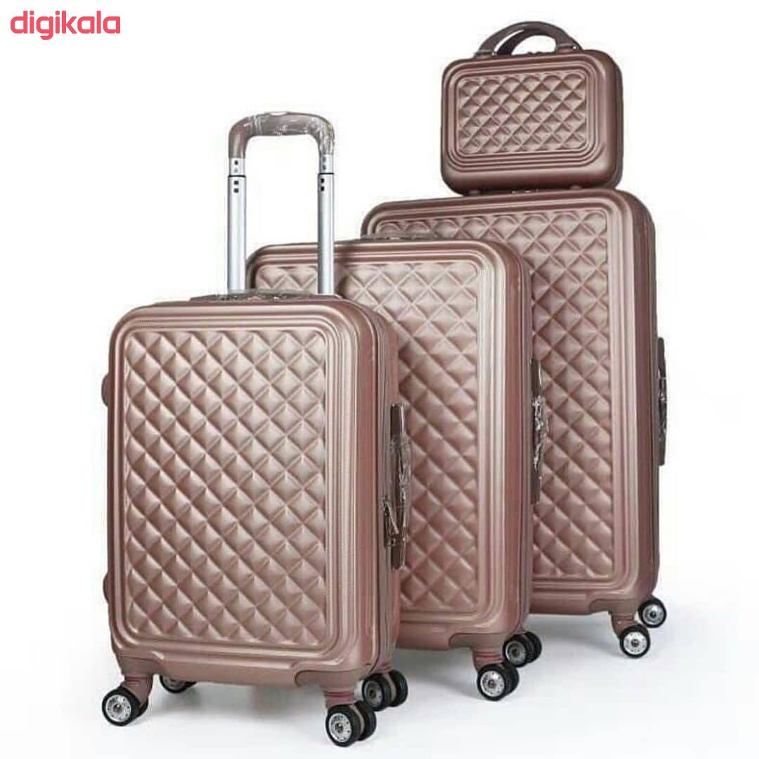 مجموعه چهار عددی چمدان کد B024  main 1 18