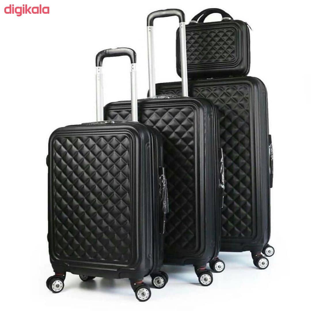 مجموعه چهار عددی چمدان کد B024  main 1 19