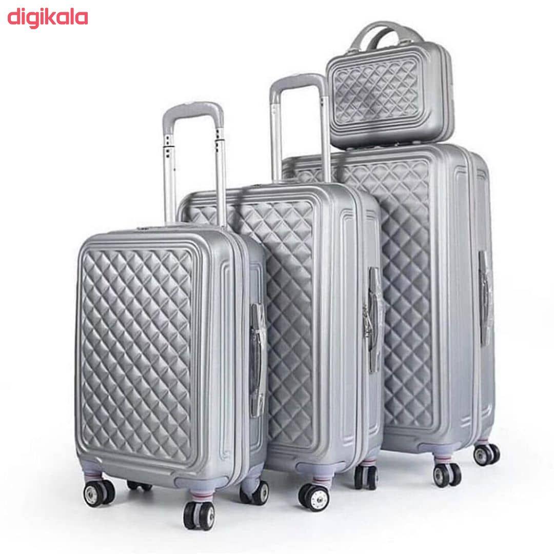 مجموعه چهار عددی چمدان کد B024  main 1 20