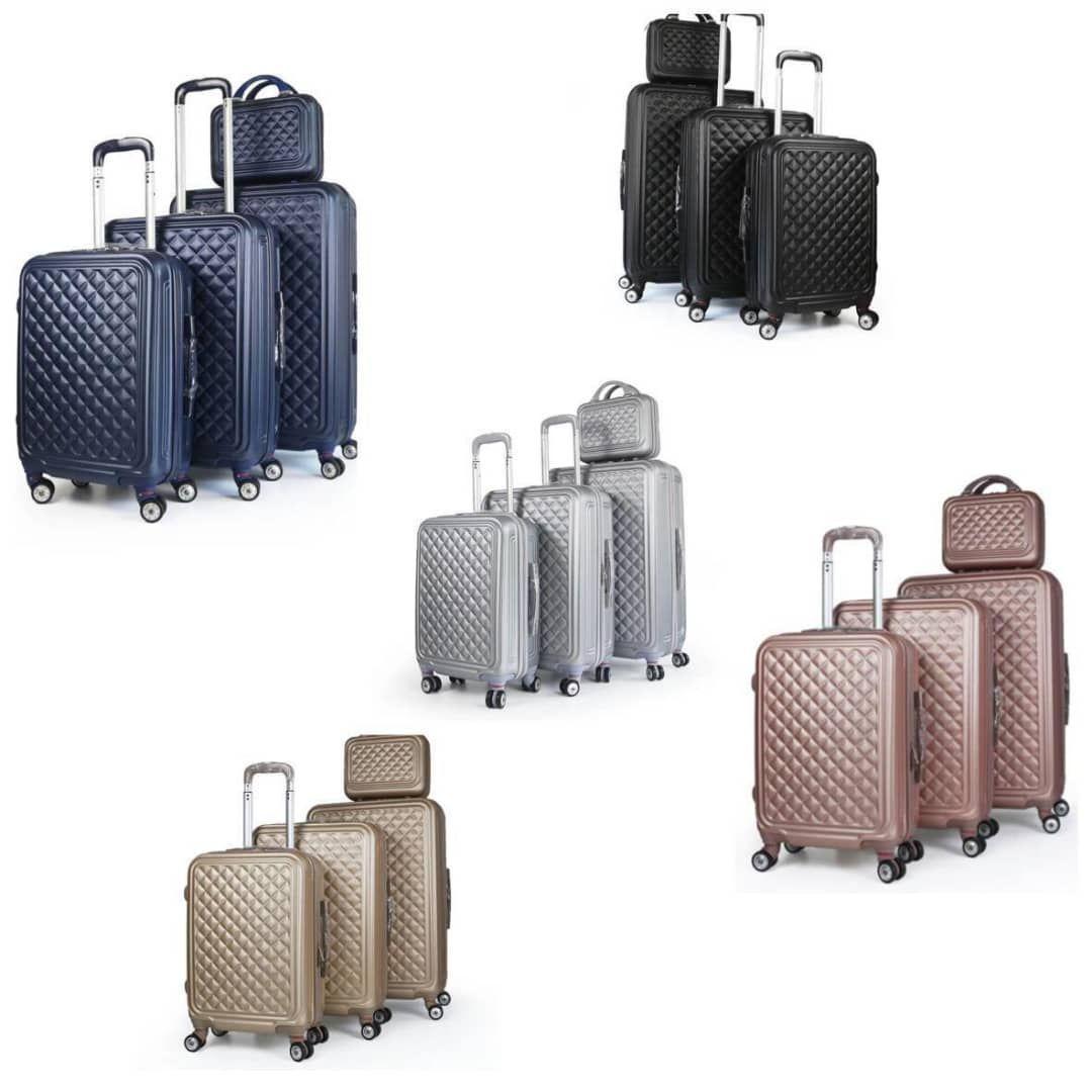مجموعه چهار عددی چمدان کد B024  main 1 22