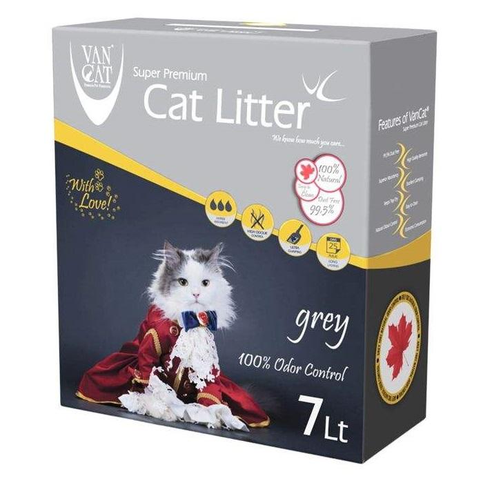 خاک گربه ون کت مدل Grey کد 020 وزن 7 کیلوگرم