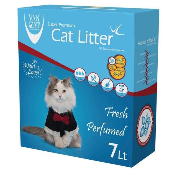 خاک گربه ون کت مدل Fresh Perfumed کد 010 وزن 7 کیلوگرم