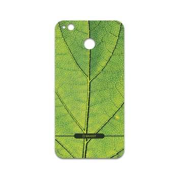 برچسب پوششی ماهوت مدل Leaf-Texture مناسب برای گوشی موبایل شیائومی Redmi 4X
