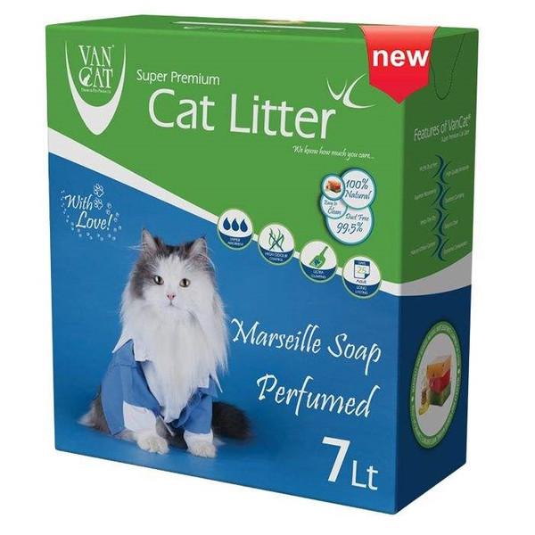 خاک گربه ون کت مدل Marseilla Soap کد 025 وزن 7 کیلوگرم