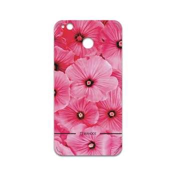 برچسب پوششی ماهوت مدل Pink-Flower مناسب برای گوشی موبایل شیائومی Redmi 4X