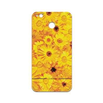 برچسب پوششی ماهوت مدل Yellow-Flower مناسب برای گوشی موبایل شیائومی Redmi 4X