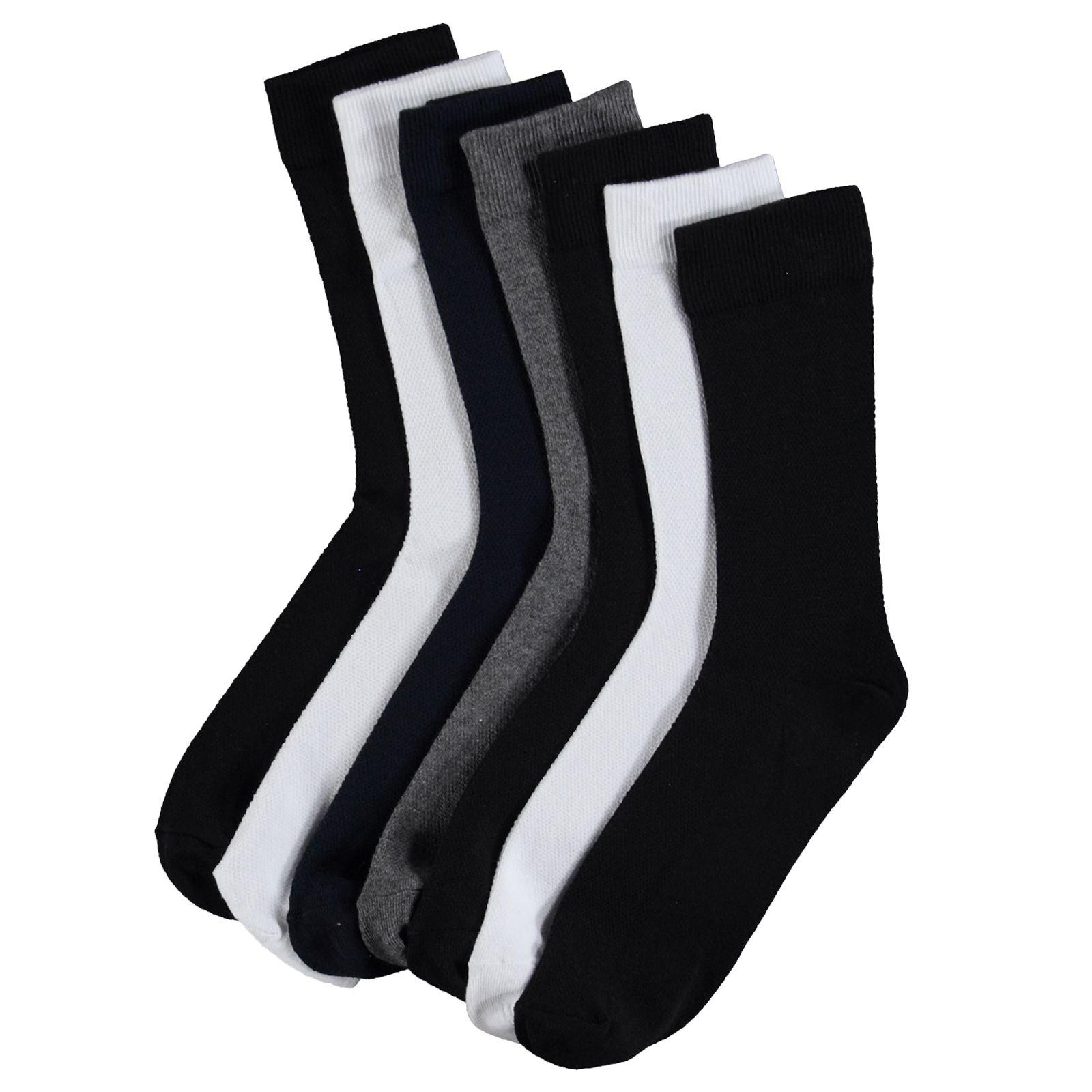 جوراب مردانه ال سی وایکیکی کد 0S6089Z8 مجموعه 7 عددی -  - 2